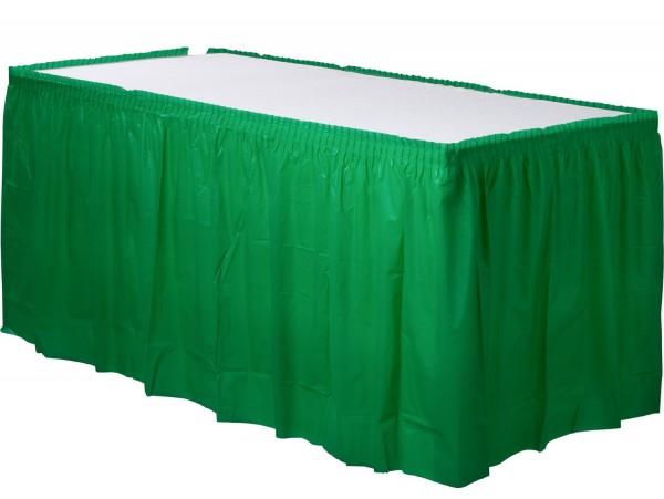 Tischumrandung Mila grün 4,26m x 73cm