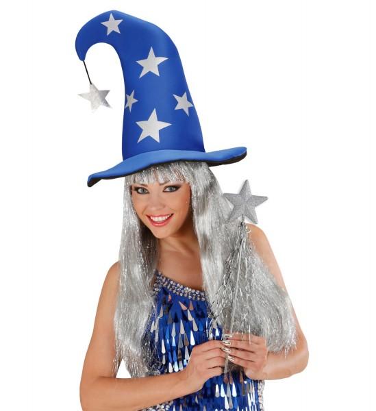 Silver stars magic wand