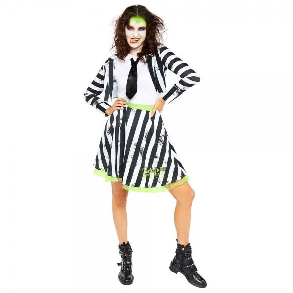 Beetlejuice Lady dames kostuum