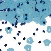 Blaue Baby Füßchen Streudeko 14g