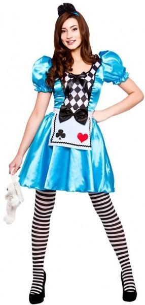 Alice Im Zauberland Damenkostüm