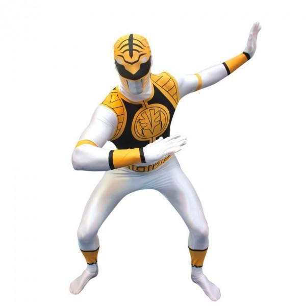 Ultimate Power Rangers Morphsuit weiß