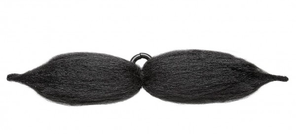 Verformbarer Schnurrbart Schwarz