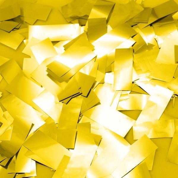 Party Popper Golden Confetti Rain