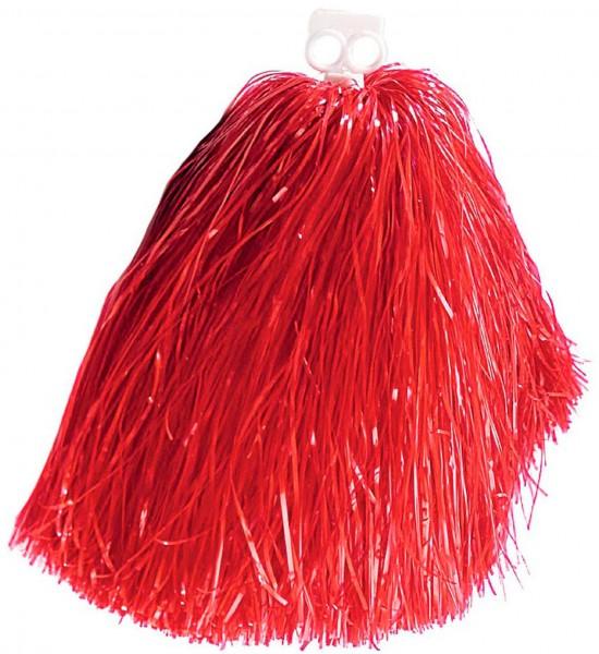 Roter Cheerleader Pom Pom