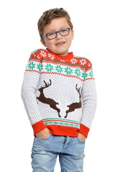 Reindeer kids sweater