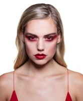 Horror Teufel 3-Monats-Kontaktlinse