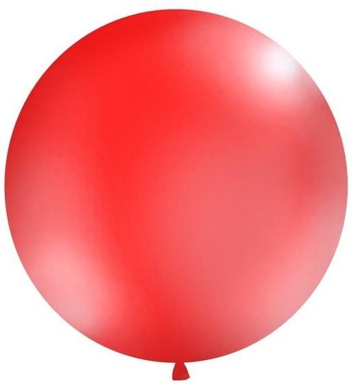 Globo XXL fiesta gigante rojo 1m