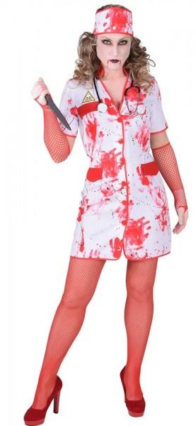 Blutiges Krankenschwester Kostüm Für Damen