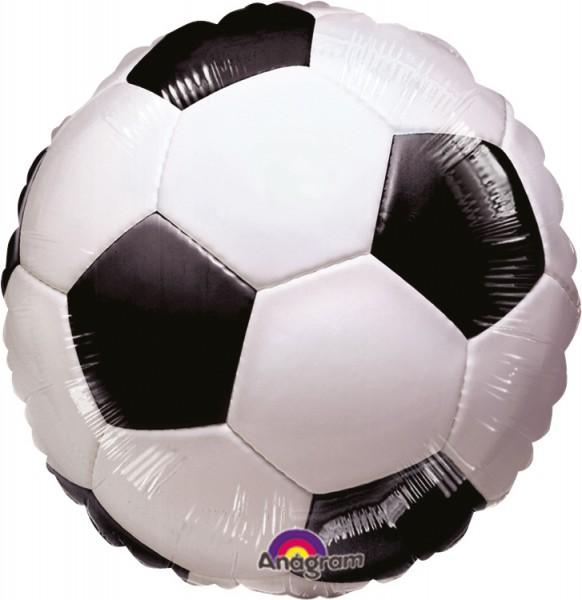 Balon foliowy piłkarski 45 cm