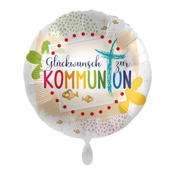 Kommunion Glückwunsch Folienballon 43cm