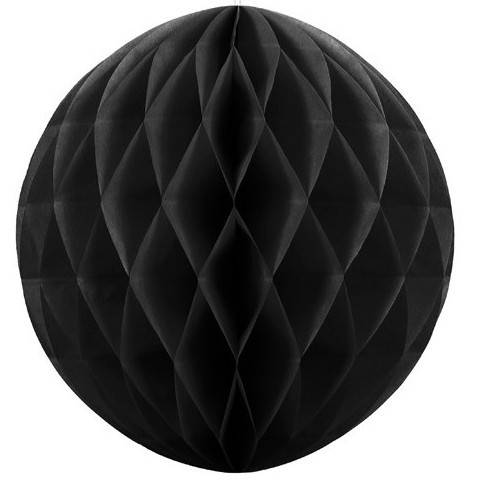 Honeycomb ball Lumina black 30cm