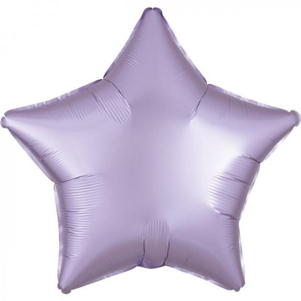 Ballon Aluminium Satin Luxe Pastel Star 48cm