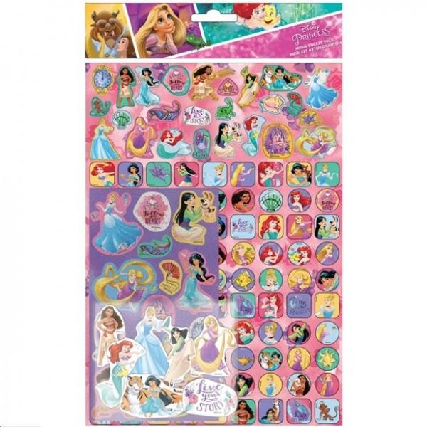 Disney Prinzessinnen Aufkleber Mega Pack