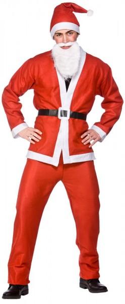Christmas magic Santa Claus men's costume