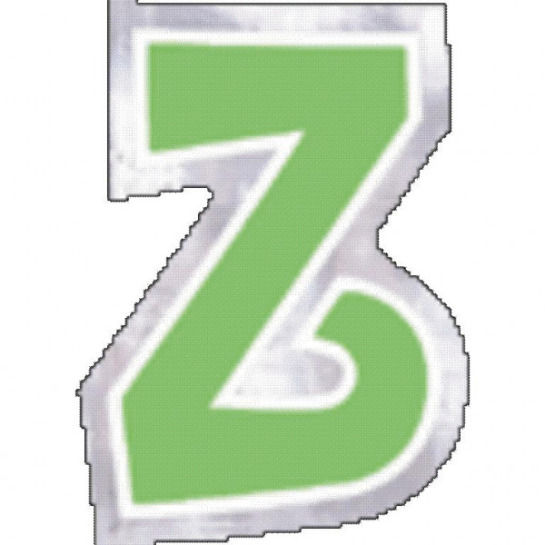 48 balloon stickers letter Z