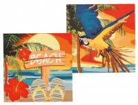 12 Hawaii Party Servietten 33 x 33cm