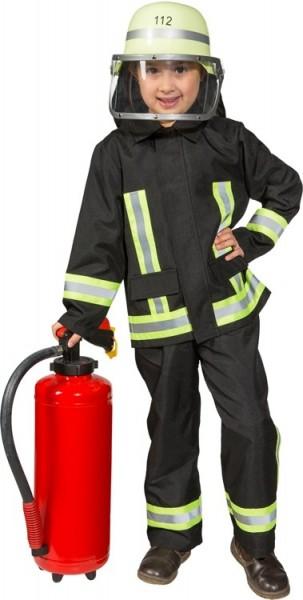Brandweerman uniform kostuum voor kinderen