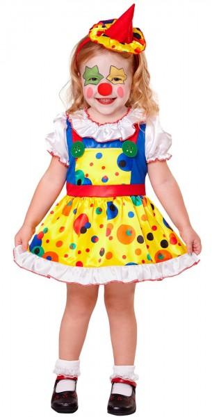 Zirkus Clown Loulu Mädchenkostüm