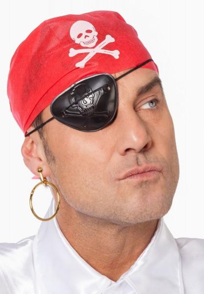 3-piece pirate costume accessories set