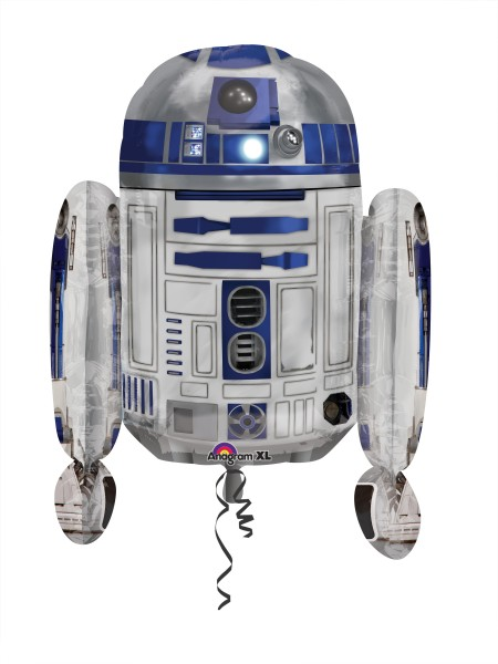 Foil balloon Star Wars R2D2 figure