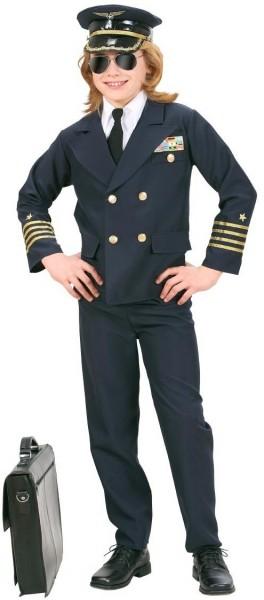 Piloten Uniform Kinderkostüm