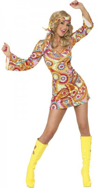 484f7d24bfd Hippie Costume for Ladies 'Star'