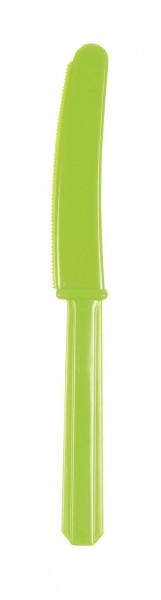 10 cuchillos fiesta buffet kiwi 17.2cm