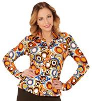 Crazy 70er Bluse Lisa für Damen