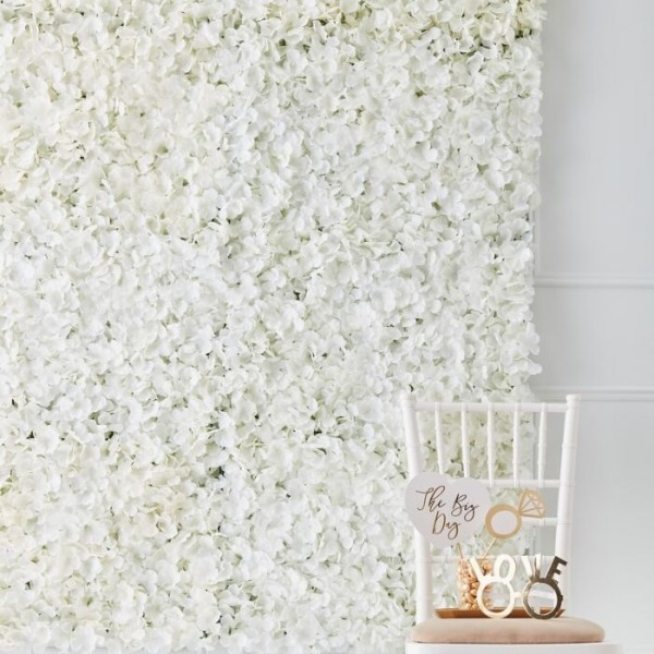 Golden Wedding Hortensien Hintergrund