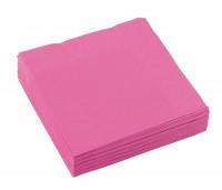 20 Servietten Mila rosa 25cm