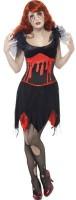 Halloween Kostüm Blutige Vampir Lady
