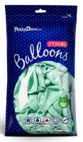 50 Partystar Luftballons minttürkis 27cm