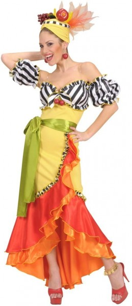 Pina Colada Samba ladies costume