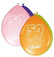 8 Sarah Celebration Luftballons 30cm