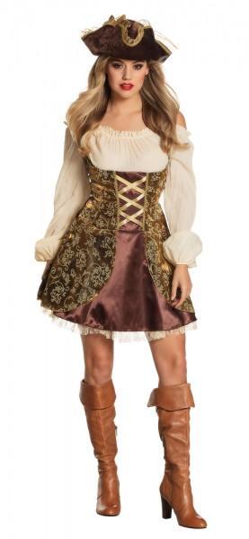 Pirate of the treasure islands ladies costume