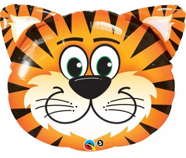 Tiger Timmy Folienballon 76cm
