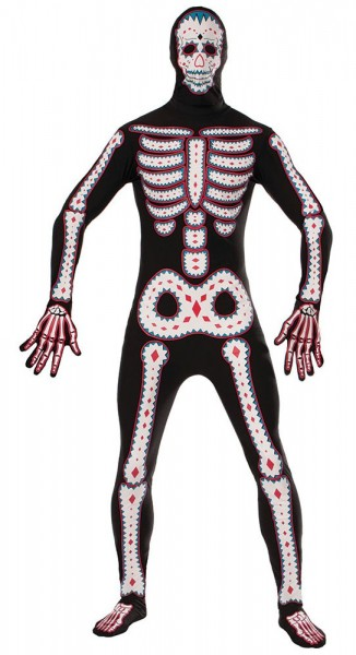 Day of the Dead Morphsuit für Herren