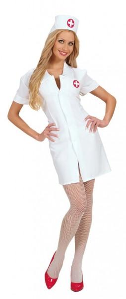 Uroczy kostium pielęgniarki