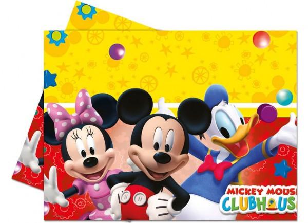 Mickey Mouse Partyfreunde Kunststofftischdecke 120x180cm
