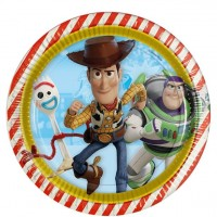 8 Toy Story 4 Pappteller 23cm