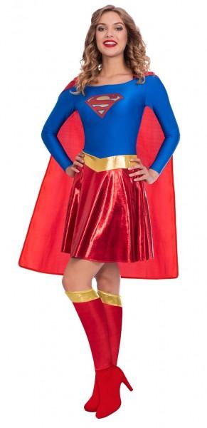 Déguisement licence Supergirl pour femme