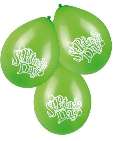 6 balonów Happy St. Patricks Day 25cm
