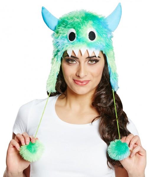 Flauschige Monstermütze Rammbias