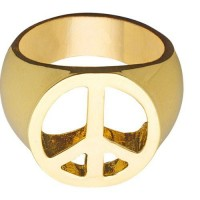 Hippie Peace Goldring