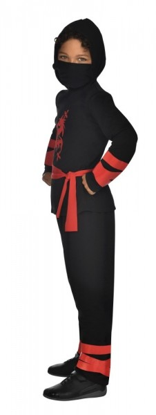 Ninja Kinderkostüm Schwarz 5