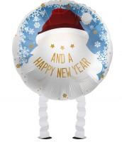 Aperçu: Ballon en aluminium Santa Airwalker 43cm
