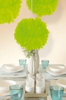 Pompon Elli neon grün 30cm