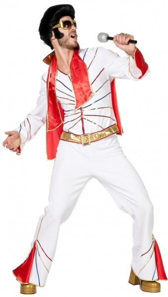 The King Elvis men's costume