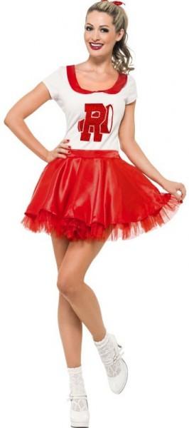 50er Jahre Cheerleaderin Kostüm